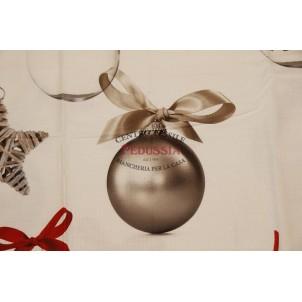 Tag HouseTovaglia di Natale Rettangolare 140x180 Palle di Natale