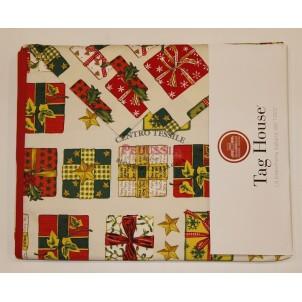Tag House Tovaglia di Natale Rettangolare 140x180 Pacchetti