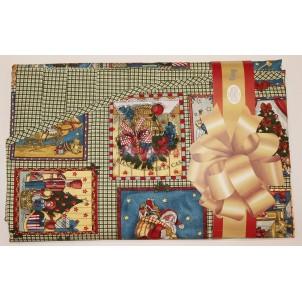Tag House Tovaglia di Natale Ovale 180x260 con 12 tovaglioli
