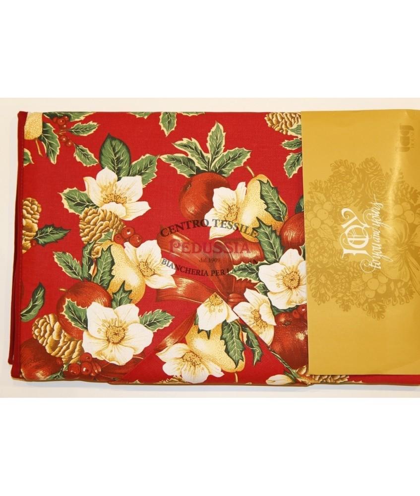 Tag House Tovaglia di Natale 150x360x18 con tovaglioli