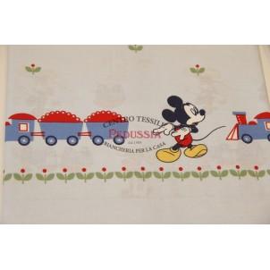 Caleffi Disney Mickey Folk Baby Completo lenzuolo