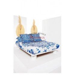 Desigual Think In Blue Parure Copripiumino double face