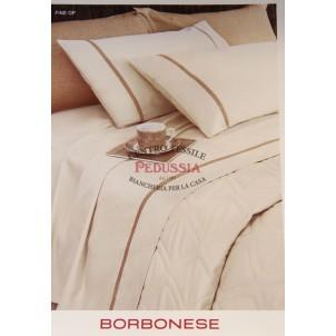 Borbonese Fine Op Completo letto Ecrù 260x290