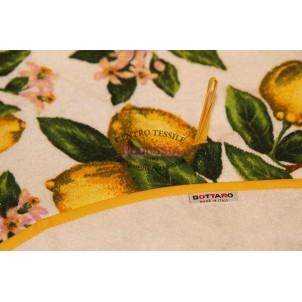 Bottaro Asciugamano da cucina in spugna rotondo 75 cm Sorrento