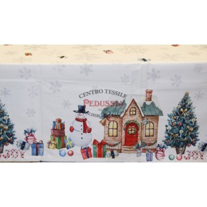 Tessitura Randi Joyous Tovaglia di Natale Rettangolare 150x180