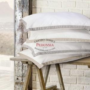 Govina Adry Completo lenzuola Cotone No stiro Beige riga