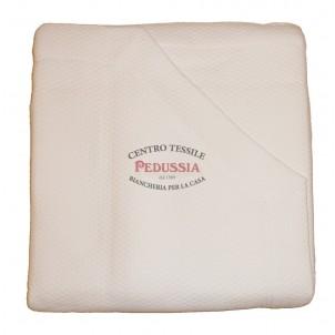 Fashionbed Copriletto 100% Cotone Ideal Bianco