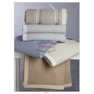 Borbonese Cotton Plaid Oplà Marrone