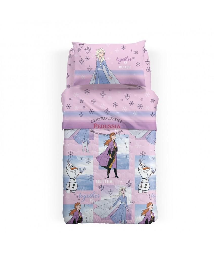 Caleffi Copriletto trapuntato Frozen Sogni