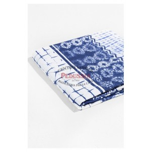 Desigual Lenzuola Exotic Jeans 100% Cotone Singolo Blu