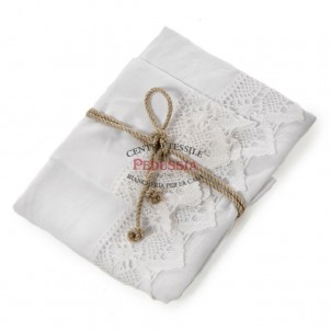 Coppia asciugamani in lino var. bianca NUVOLA FAZZINI linea BLOW